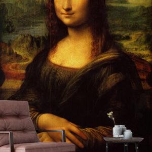 پوستر دیواری نقاشی مونالیزا DA-1009