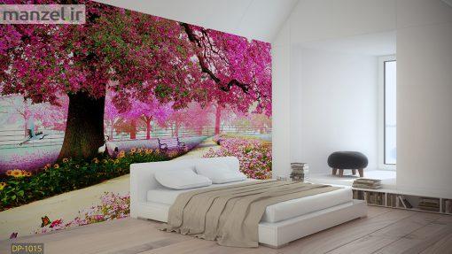 پوستر دیواری درخت و شکوفه DP-1015
