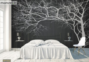پوستر دیواری هنری طرح درخت DP-1022
