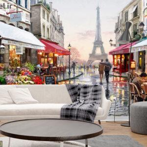 پوستر دیواری نقاشی پاریس DA-1043