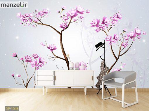 پوستر دیواری شکوفه و درخت DP-1048