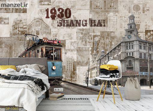 پوستر دیواری طرح شانگهای DP-1065