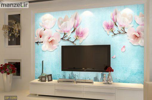 پوستر دیواری گل و شاخه درخت DP-1099
