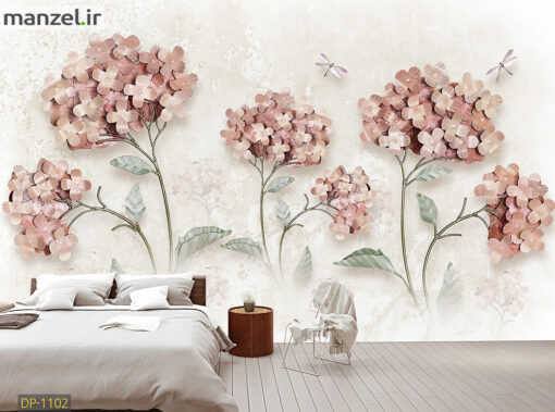پوستر دیواری گل DP-1102
