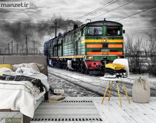 پوستر دیواری قطار DA-1109