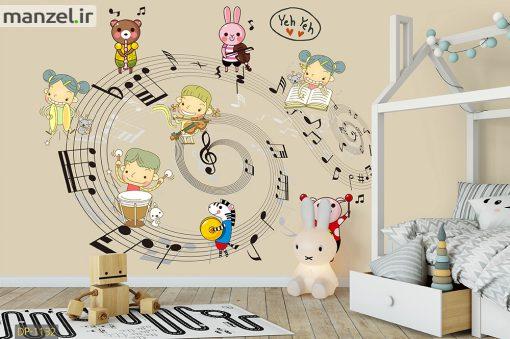 پوستر دیواری شخصیت های موزیکال DP-1132