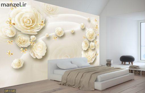 پوستر دیواری گل پارچه ای DP-1145