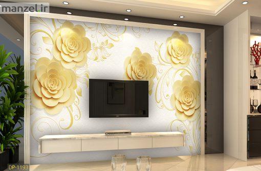 پوستر دیواری رزهای طلایی DP-1193