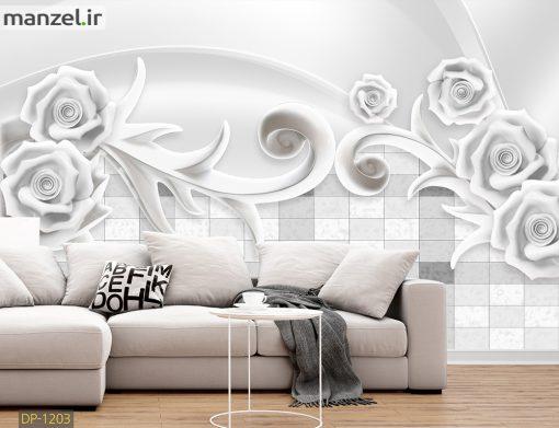 پوستر دیواری گل DP-1203