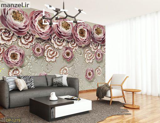 پوستر دیواری گل DP-1219