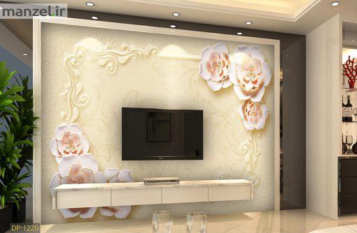 پوستر دیواری گل DP-1220