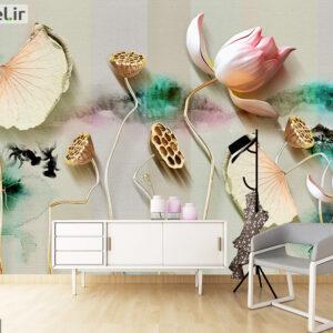 پوستر دیواری گل فانتزی DP-1224