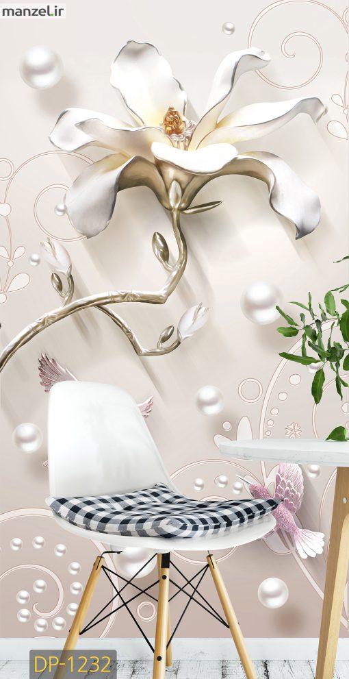 پوستر دیواری گل DP-1232
