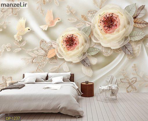 پوستر دیواری گل DP-1237
