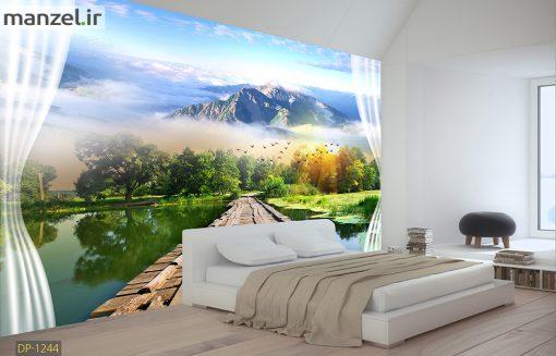 پوستر دیواری طبیعت و منظره DP-1244