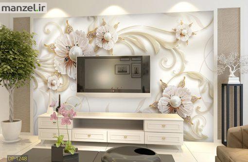 پوستر دیواری گل مرواریدی DP-1248