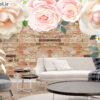 پوستر دیواری گل کاغذی DP-1270