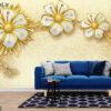 پوستر دیواری گل و پروانه DP-1314