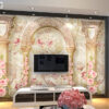 پوستر دیواری گل شیشه ای DP-1297