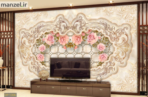 پوستر دیواری گل DP-1306