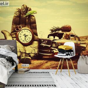 پوستر دیواری ماشین و ساعت DA-1311