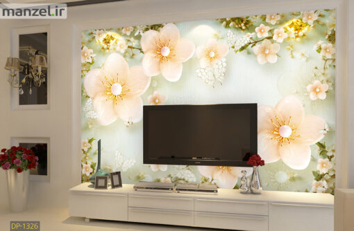 پوستر دیواری گل DP-1326