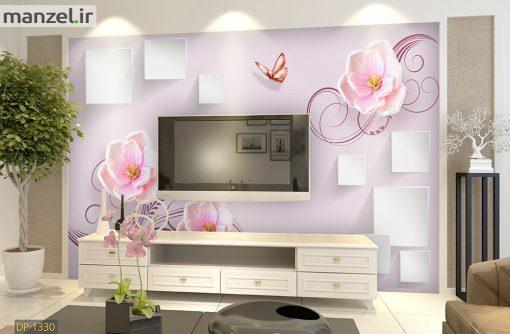 پوستر دیواری گل DP-1330