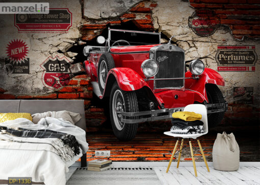 پوستر دیواری ماشین کلاسیک DP-1336