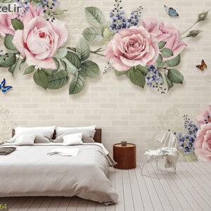 پوستر دیواری گل رز DP-1364