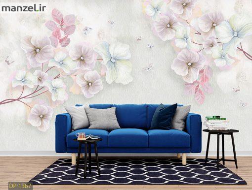 پوستر دیواری گل DP-1367