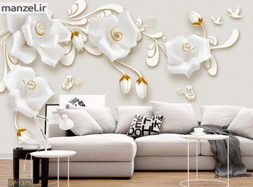 پوستر دیواری رز فانتزی DP-1375