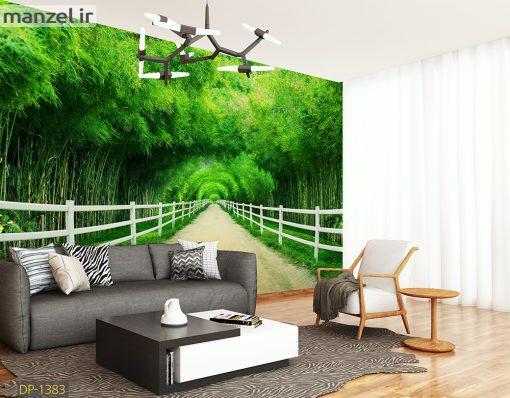 پوستر دیواری تونل سبز DP-1383