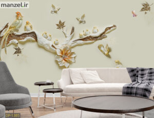 پوستر دیواری پرندگان DP-1385