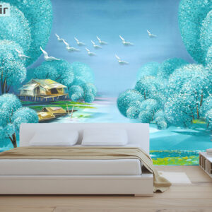 پوستر دیواری نقاشی فانتزی DP-1418