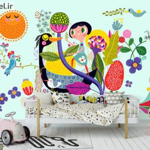 پوستر دیواری نقاشی فانتزی کودکانه DP-1439
