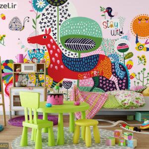 پوستر دیواری نقاشی فانتزی کودکانه DP-1440