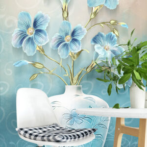 پوستر دیواری گل و گلدان DP-1448