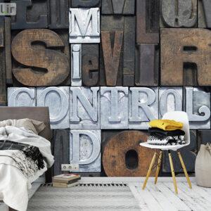 پوستر دیواری حروف انگلیسی DA-1454