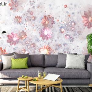 پوستر دیواری هنری و طرح گل DA-1475