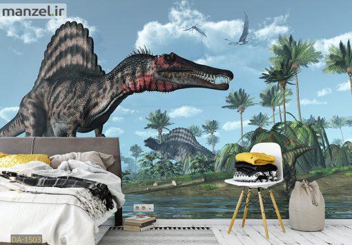 پوستر دیواری دایناسور DA-1503