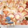 پوستر دیواری گل خاکستری DA-1509