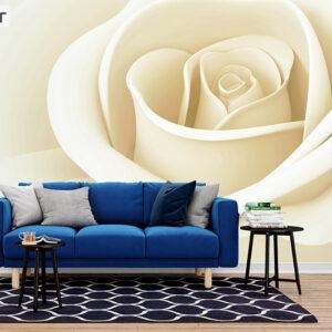 پوستر دیواری رز سفید DA-1510