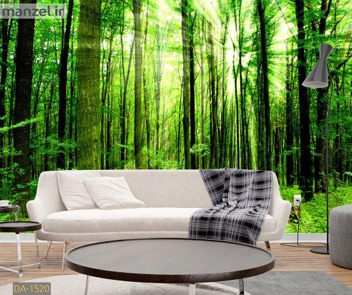 پوستر دیواری جنگل DA-1520