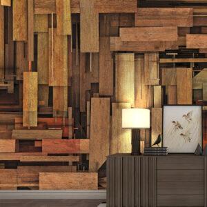 پوستر دیواری طرح چوب DA-1526