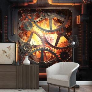 پوستر دیواری چرخ دنده DA-1532