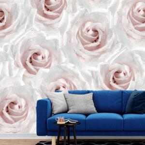 پوستر دیواری رزهای سفید DA-1536