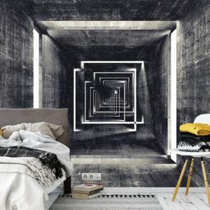 پوستر دیواری دالان خاکستری DA-1551