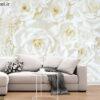 پوستر دیواری گل های صورتی DA-1561