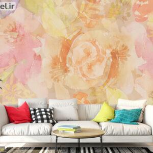 پوستر دیواری گل ابر و بادی DA-1598