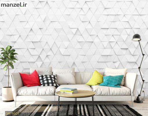پوستر دیواری طرح مثلث DA-1601